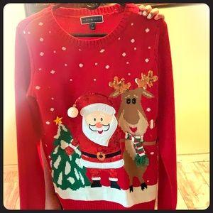 Karen Scott women Christmas sweater